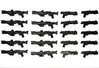 LEGO Star Wars Guns DC-15 + DC-15S Lot of 20 Blaster Clone Trooper Weapon Pack