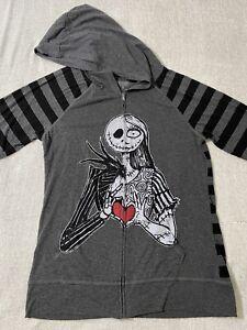 Disney Parks Nightmare Before Christmas Sally Jack Skellington Hoodie Jacket XL
