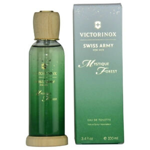 SWISS ARMY MYSTIQUE FOREST 3.4 oz 3.3 Perfume women edt New in Box