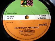 """THE TRAMMPS - HARD ROCK AND DISCO    7"""" VINYL"""