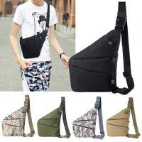 Concealed Storage Gun Bag Holster Left Right Shoulder Bag Anti-theft Bag