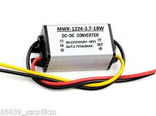 12V/24V to 3.7V 5A DC/DC Power Converter Regulator Module Step Down Adapter