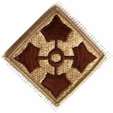 NEW ~ U.S. ARMY 4TH INFANTRY DIVISION DESERT PATCH ~ NEW