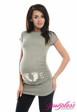 Nuevo Estampado De Mujer Maternidad Tops Pregnancy Diseños,COLORES,Tallas