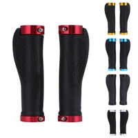 1 Pair Cycling Mountain Bike Bicycle MTB Handlebar Rubber Anti-slip Handle Grips