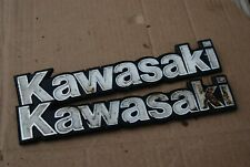 kawasaki kc100 Fuel tank badges petrol tank badges