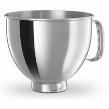 KitchenAid 5-Qt. Tilt-Head Polished Stainless Steel Bowl with Comfortable Handle