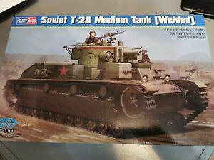 1/35 Hobbyboss Soviet T-28 Medium Tank [ Welded ]