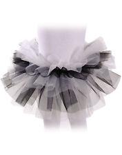 Cute Adorable Tutu Black White Skirt Halloween Costume Accessory Child Girls