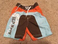 Preowned Boys Old Navy Swim trunks Size 18-24 mo back pocket