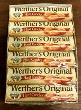 Werther's werthers Original Hard Candies 12 Rolls Caramel Candy Storck free ship