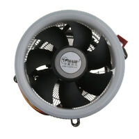 PC CPU Cooler 9cm Cooling Fan w/ LED Heatsink 1800RPM Hydraulic for Computer