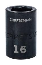 "NEW! CRAFTSMAN 16mm Standard Impact Socket 1/2"" Drive 6-Point 15864 USA"