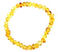 Bracciali di lusso con gemme marrone in pietra principale ambra