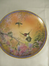 Bradford Exchange Hummingbird Plate - Wings of Grace #12738A