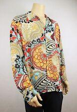 Mens Vtg 70s Style Fresh Prince Paisley Scarf Shirt Ladies Festival XXL to XXXL