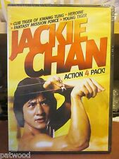 JACKIE CHAN ACTION 4 PACK! (DVD, 2008), NEW, Combined Shipping Discount