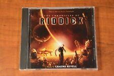 The Chronicles of Riddick Soundtrack by Graeme Revell (Cd, 2004, Varese) - New!
