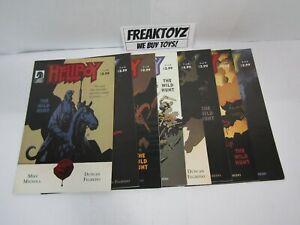 Hellboy the Wild Hunt #1-8 Complete Set, Dark Horse Comics