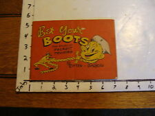 Bet Your Boots the story of Recruit Training by RITTER & GADBOIS 1948