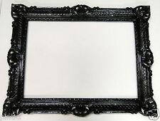 Cadre Photo XXL Noir Antique Grand 70x90 BAROQUE ART NOUVEAU rectangulaire 3056