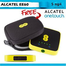 Alcatel EE60 4G 150mbps Mifi 20hr battery life Auto APN Power bank function Auto