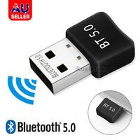Bluetooth V5.0 USB Dongle Adapter For PC Desktop Computer WIN 10
