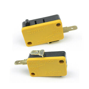 10pcs Replacement 2 Terminals ZIPPY Microswitch Actuator for Arcade  Push Button