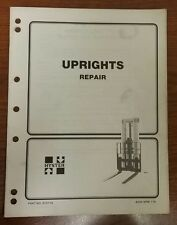 "Hyster "" Uprights Repair"" Manual, 910116, 4000 Srm 115"