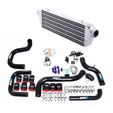 For EF EG EK DA DC2 B16 B18 B20 T3 Turbo Intercooler + Piping Kit + Wastegates