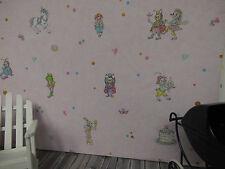 sehr süsse TAPETE,ideal für PUPPENSTUBE Kinderzimmer, Bogen:30x53cm