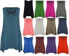 Unbranded Scoop Neck Hip Length Blouses for Women