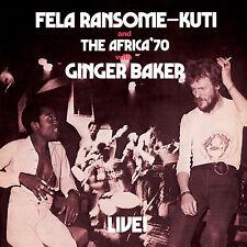 Fela Kuti with Ginger Baker - Live! NEW SEALED LP w/ Africa 70