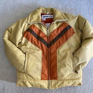 Vintage Gerry Down Ski Jacket Made In USA men's Large
