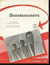 DIGNO GARCIA partition musicale GUANTANAMERA
