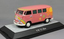 Premium ClassiXXs Volkswagen VW T1 Bus Flowerpower in Pink 13851 1/43NEW Ltd 750