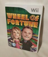 Wheel of Fortune - Nintendo Wii Game - Complete & Tested