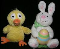 Easter Hallmark Chicken Dance Singing Duck and Rockin Robin Rabbit Musical Pair