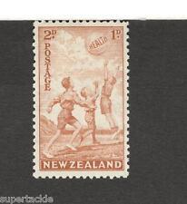 1941 New Zealand #B17 Children/Health MH F-VF stamp
