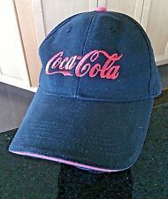 Baseball Cap Coca Cola Hat Embroidered Logo Adjustable Pre Curved Sports Drinks