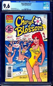 Cheryl Blossom #1 CGC 9.6 ARCHIE RIVERDALE CW 1995 NM+