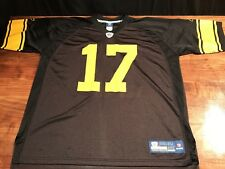 f1917f2dac8 Reebok Onfield Steelers Mike Wallace  17 Throwback Jersey 2XL