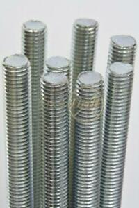 M8 x 180mm, A2/ 304 Stainless, Threaded Bar/ Studding, 2 pack.