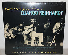 2 CD DJANGO REINHARDT - WITH STRINGS AND BASS - NUOVO NEW