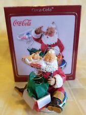 Carlton Cards Heirloom 2009 Coca Cola Santa Claus Christmas Ornament