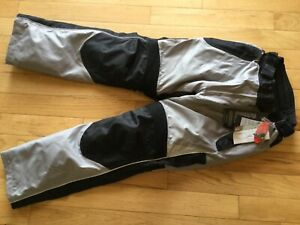 Tourmaster Venture Mens Motorcycle Padded Pants w/ removable Liner NEW S