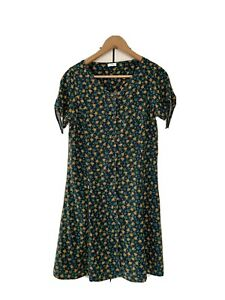 Next, Ditsy Floral Mini Dress, Green, For Girls 15 Years