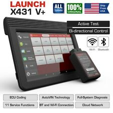 LAUNCH X431 V+ OBD2 Scanner ECU Coding Key Programer All-System Wifi BT Better V