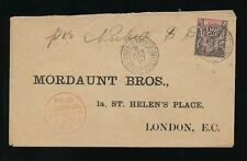 Victorian (1837-1901) Cover European Stamps