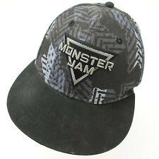 Monster Jam Snapback Ball Cap Hat Adjustable Baseball Adult Trucks 4x4